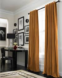 Mustard Colored Curtains Inspiration Black And Yellow Curtains Curtains Ideas