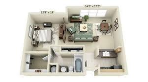 coin chambre dans salon 15 idées pour un studio compact des idées