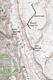 capitol reef national park map halls creek narrows via airport route capitol reef national