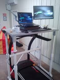 Diy Treadmill Desk Ikea Diy Pvc Ikea Treadmill Desk Check Out The Version Built