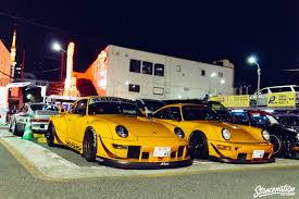 rauh welt porsche purple rwb porsche meet at roppongi japan stancenation form