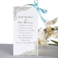 cheap wedding invitations online simple scroll layered wedding invitations uki146 uki146 0 00