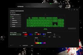 razer blackwidow chroma lights not working razer blackwidow chroma v2 keyboard configuration