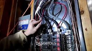 wiring a portable generator into a house how not to do it youtube