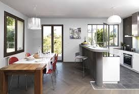 cuisine avec porte fenetre fenetre panoramique cuisine beautiful fentre aluminium with fenetre