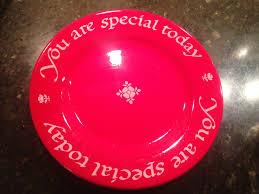 you are special plates you are special plate defeo