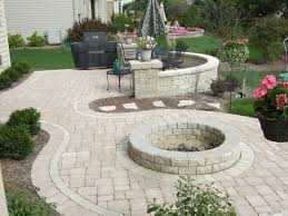 Pavers Patio Design Outdoor And Patio Beautiful Home Depot Patio Design With