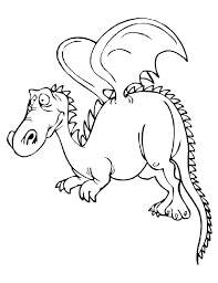 dragon coloring pages moms