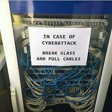 Cable Meme - cyberattack funny meme broken glass and meme