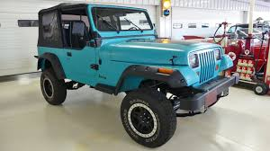 teal jeep rubicon 1993 jeep wrangler s stock 227274 for sale near columbus oh