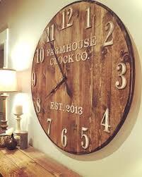 square wood wall large wood wall clocks animalcams info