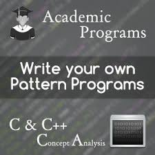 java pattern programs for class 10 how to write pattern programs in c in a few easy steps