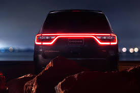 Dodge Durango Rt 2016 - 2017 dodge durango rt tail light motor trend