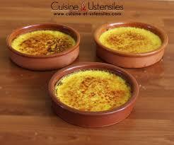blogs cuisine facile recette crème brûlée facile le de cuisine et ustensiles