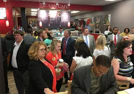 Barnes And Noble Montgomery Troy University Montgomery Opens New Barnes U0026 Noble Trojan Cafe Next