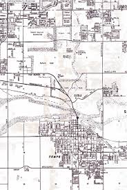 Phoenix Map by Maps Of Papago Park In Phoenix Arizona