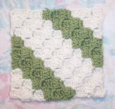 smoothfox crochet and knit smoothfox u0027s diagonal box stitch square 6x6