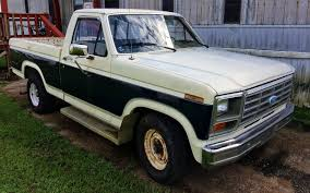 85 Ford Diesel Truck - bf auction no reserve 1985 ford f 150