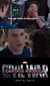 Avengers Meme - the battle of iron man vs captain america has already started on