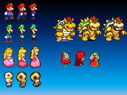 mario luigi series character evolution staremblem97