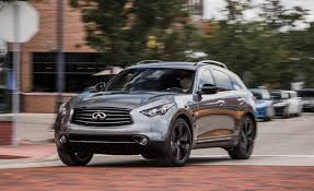 2015 infiniti qx70 u2013 review u2013 car and driver