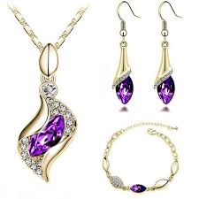 earring necklace sets images H hyde fashion design luxury cz crystal jewelry drop earring jpg