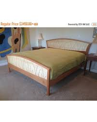 King Headboard Cherry Spring Special Bed Frame King Size Headboard Platform Bed