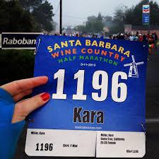 santa barbara wine country half marathon 2013 recap kara in the