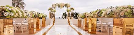 Wedding And Reception Venues Wedding Venues In Miami Beach Fontainebleau Ceremony