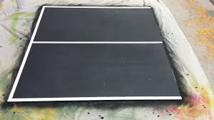 tabletop ping pong table ana white 40 ping pong table top game diy projects