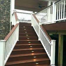 indoor stair lighting ideas indoor stair lights square stair stair lights are perfect for decks
