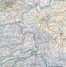 West Asia Map by Map West China Xinjiang Uyghur Ar Kasghar Region Karakoram