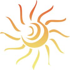 sun rays clip at clker com vector clip royalty