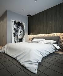 wandbild schlafzimmer schlafzimmer in grau kunstvolles wandbild und led