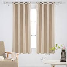 Insulated Curtains Amazon Amazon Com Deconovo Solid Grommet Curtains Blackout Panels