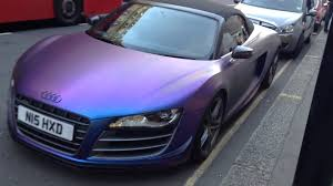 pink audi r8 craziest wrap on a audi r8 youtube