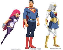 starfire costume awesome costume redesigns of superman woman starfire by