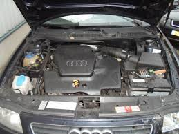 audi a3 8l 1 6 salvage year of construction 1999 colour blue