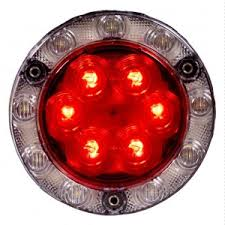 flush mount tail lights maxxima hybrid red white 4 inch led combo tail light