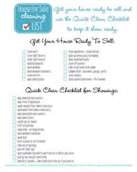 how to clean the house fast house for sale cleaning checklist freebie house real estate