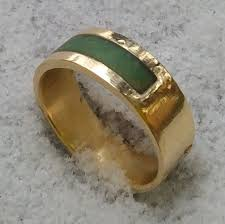 jade wedding ring custom gold jade wedding band by cicmil crowns custommade