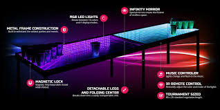 Beer Pong Table Size Infinity Glow Party Table Review Tailgate365