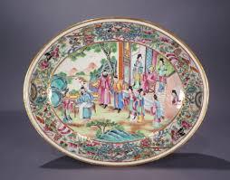 mandarin porcelain mandarin serving dish c 1830 dubey s antiques