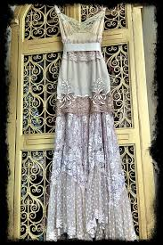 ecru ivory u0026 cream lace boho maxi wedding party dress mermaid miss