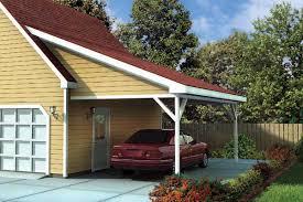 attached carport building a carport on side of garage home desain 2018