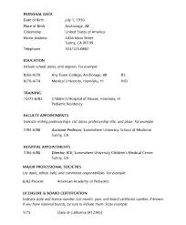 Cio Resume Examples by Physician Resume Example Doctor Mbbs Resume Doctor Resume Samples