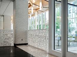 Temple Room Designs - razortooth design llc architectural screens lobby feature