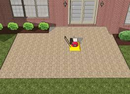 Paver Patio Installation How To Install A Paver Patio Step By Step