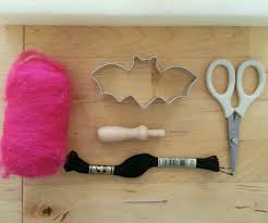 how to make diy halloween bat garland dear handmade life