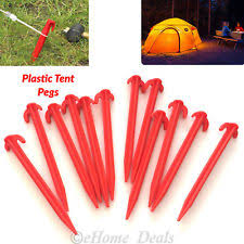 Awning Pegs For Hard Standing Pitches Camping Tent Pegs Accessories Ebay